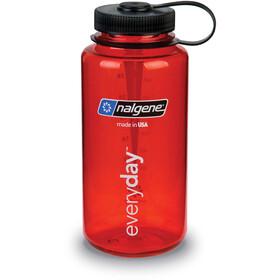 Nalgene Everyday Wide Neck Drinking Bottle 1000ml red